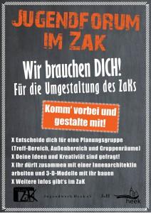 Jugendforum2016_Plakat_UmgestaltungZaK